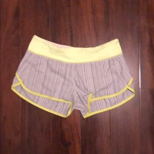 Lululemon Run Speed Shorts *fits smaller than 6